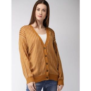 NWOT • Striped Oversize Sweater